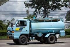 Intymny Kanalizacyjna Cysternowa ciężarówka Fotografia Stock