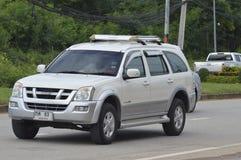 Intymny Pickup samochód, ISUZU MU-7 Fotografia Stock