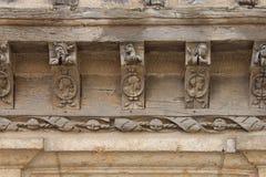 Intymny średniowieczny dom Châteaudun, Francja - Obraz Stock