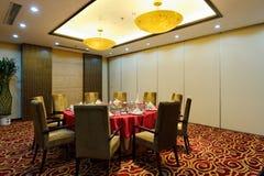 intymny restauracyjny pokój Obrazy Royalty Free