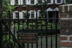 Intymny sąd fotografia stock
