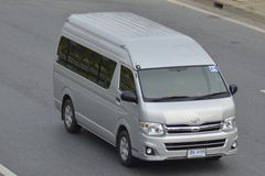 Intymny Samochodu dostawczego Samochód Toyota samochód dostawczy Fotografia Royalty Free