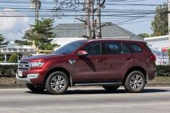 Intymny Suv samochód, Ford Everest Obraz Royalty Free