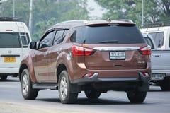 Intymny SUV samochód, Isuzu Mu x, Mu Zdjęcia Stock