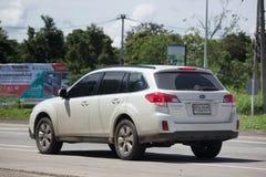 Intymny Suv samochód, Subaru odludzie Zdjęcia Royalty Free