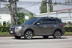 Intymny Suv samochód, Subaru odludzie Zdjęcie Royalty Free