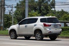Intymny SUV samochodowy Isuzu Mu, Mu x Zdjęcia Stock