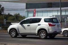 Intymny SUV samochodowy Isuzu Mu, Mu x Fotografia Stock
