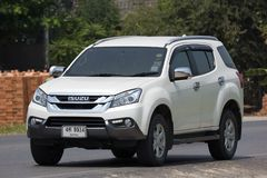 Intymny SUV samochodowy Isuzu Mu, Mu x Obrazy Stock