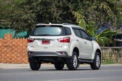 Intymny SUV samochodowy Isuzu Mu, Mu x Obraz Stock
