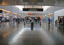 Intérieur d'aéroport international de McCarran, Las Vegas Photo stock