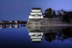 Inui塔楼,名古屋城堡,日本 免版税图库摄影