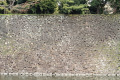 Inui moat of Edo castle in Tokyo Royalty Free Stock Image