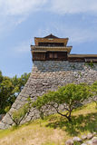 Inui (Northwest) Turret of Matsuyama castle, Japan Stock Photography