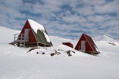 inuit хаты стоковые изображения