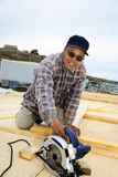 Inuit Construction Worker Royalty Free Stock Photography