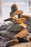 Inuit Inukshuk Royalty Free Stock Photography