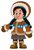 Inuit theme image 3 Stock Image
