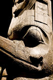 Inuit Totem royalty free stock images