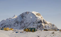 Inuit village Stock Photos