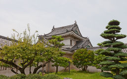 Inuiyagura Turret of Wakayama castle, Japan. Castle was erected in 1585, bombed out in 1945, reconstructed in 1958 Stock Image