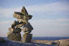 Free Inukshuk Royalty Free Stock Photos - 16272468