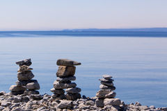 Inukshuk Photo stock