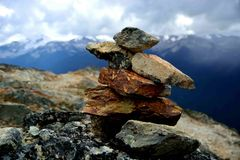 Inukshuk Foto de Stock Royalty Free