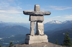 Inukshuk, Canada Stock Photography
