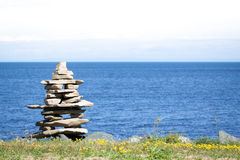 Inukshuk, Canada Photos stock