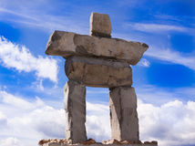 Inukshuk Royalty Free Stock Images