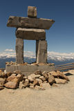 Inukshuk Whistler Stock Photos