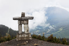 Inukshuk in Whistler Stock Images