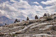 Inuksuk Ridge Fotografía de archivo libre de regalías