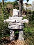 Inuksuk statue Stock Image