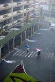 Inundação causada por Tufão Ondoy Foto de Stock