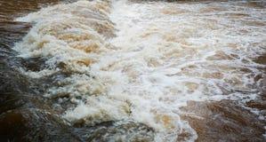 Inundação da água fotografia de stock royalty free