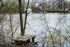 Inundação da casa fotos de stock royalty free