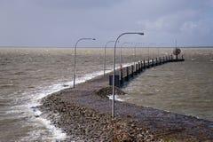 Inundação da tempestade Fotografia de Stock