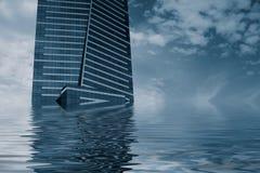 Inundação da torre de Eureka Imagens de Stock
