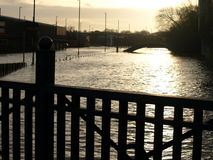 Inundação de Foss do rio Foto de Stock Royalty Free