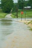 Inundação de Indiana Imagem de Stock