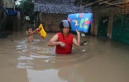 Inundação de solo Imagens de Stock Royalty Free