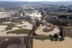 Inundação do estado de Washington imagens de stock royalty free