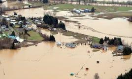 Inundação do estado de Washington imagens de stock