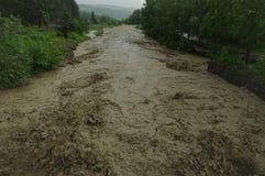 inundação do rio imagem de stock