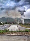Inundação em Bósnia Foto de Stock Royalty Free