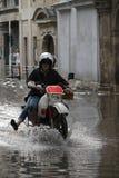 Inundação em Budapest, 2013 fotos de stock