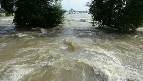 Inundação em Tailândia HD filme