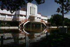 Inundação que buiding Fotos de Stock Royalty Free